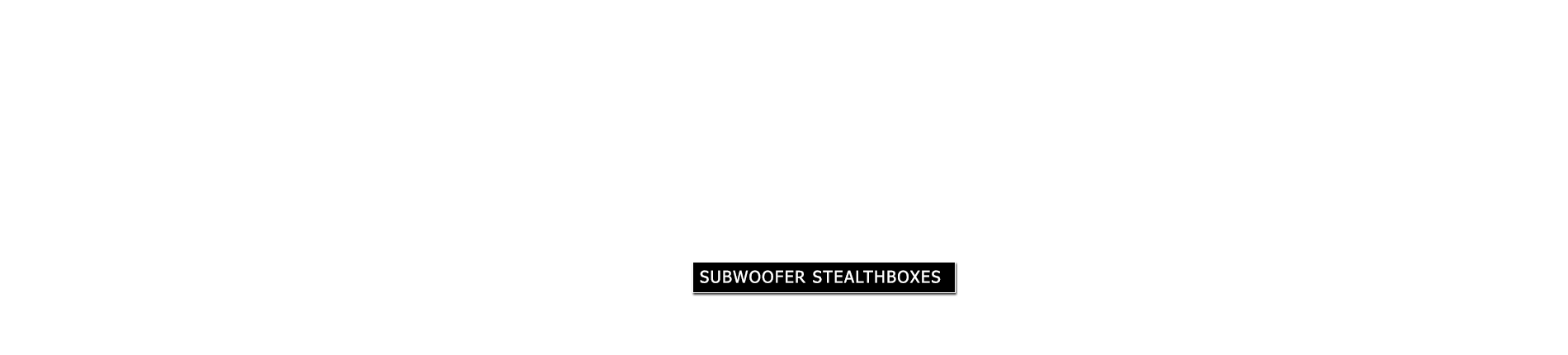 JL Audio Subwoofer Stealthboxes