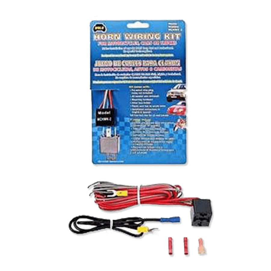 Wolo MCWK-2 Motorcycle Horn Wiring Kit • FREE 2-Day Shipping • Audio Jam  Inc. of Delaware