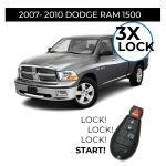 3X Lock Remote Start Installation for 2007-2010 Dodge RAM 1500 Vehicles (in store only)