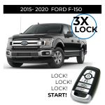 3X Lock Remote Start Installation for 2015-2020 Ford F-150 Push-Start Vehicles (in store only)