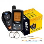 Viper 5305V Entry Level LCD 2-Way Security and Remote Start System