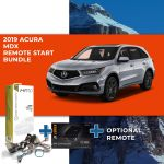 Compustar Remote Start Bundle for 2019+ Acura MDX (Push to Start)