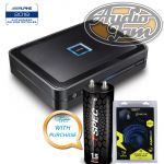 Alpine PDX-V9 5 Channel Power Density Digital Amplifier + Amp Kit & T-Spec V6-1-5C Capacitor (BUNDLE PACKAGE)