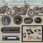 Harley Davidson 2007-2013 Street Glide Audio Package #1