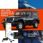Compustar Remote Start Bundle for 2017+ Jeep Wrangler JK