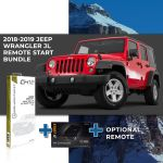 Compustar Remote Start Bundle for 2018 - 2019 Jeep Wrangler JL (Automatic Transmission)