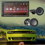Pioneer AVH-310EX Double-DIN 6.8-inch In-dash Car DVD Receiver / Alpine S-S65 S-Series 6-1/2