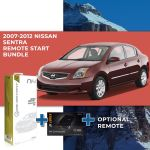 Compustar Remote Start Bundle for 2007 - 2012 Nissan Sentra (Intellakey)