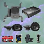 Alpine PSU-300TND Powered System Upgrade + Alpine S-S69 Speakers Bundle pack