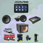 Alpine ILX-F259 Digital multimedia receiver w/ a 9
