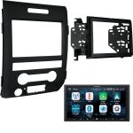 Alpine ILX-W650 Touch Screen W/ Car play for 2009-2014 Ford F150 & 95-5820b Dash Kit Included