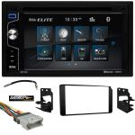 Boss Audio Bluetooth DVD Receiver W/ Dash kit for 1995-2002 GM Truck-SUV (Harness & Antenna) Included