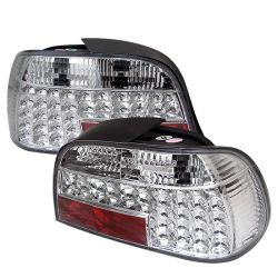 Spyder 111-BE3895-LED-C BMW E38 7-Series 95-01 LED Tail Lights (Chrome)