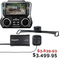 Alpine X209-WRA 9-Inch All-weather Multimedia Restyle GPS Dash System for Jeep Wrangler