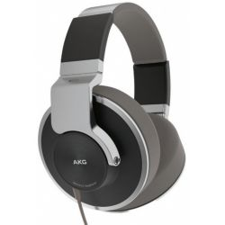 AKG K551SLV Reference-Class Closed Back Headphones with In-Line Microphone/Controller (Silver)