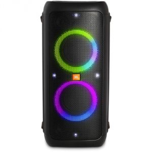 JBL Partybox 300 Powerful Wireless Speaker with Vivid Light Effects (Black)