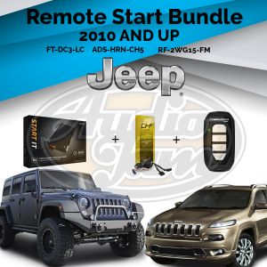 Compustar FT-DC3-LC Remote Start Module & ADS-THR-CH5 Harness & Compustar RF-2WG15-FM Remote (2005-Up Dodge, Jeep and Chrysler Vehicles)