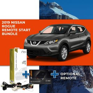 Compustar Remote Start Bundle for 2019+ Nissan Rogue (Push to Start)