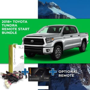 Compustar Remote Start Bundle for 2018 - 2019 Toyota Tundra (Standard Key)
