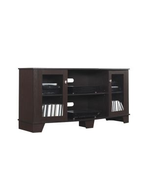 Bell'O TC59-4495-PE91-  La Salle Media Mantel in Enginnered Oak Espresso