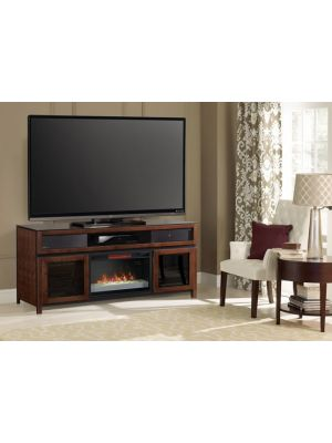 ClassicFlame Gramercy Electric Fireplace Media Console in Cocoa- 26MMS94667-MCH