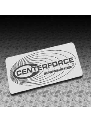 Centerforce 041602O Guides and Gear, Exterior Decal Orange