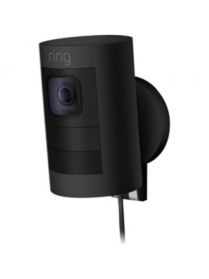 RING 8SS1E8-BEN0 Black Stick Up Cam Wired