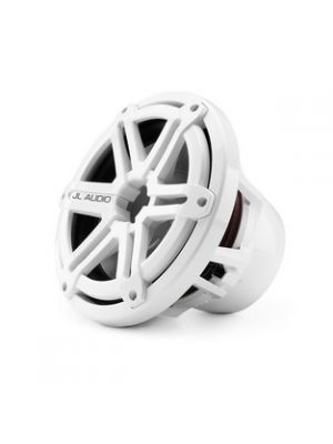JL Audio M10W5-SG-WH 10-inch (250 mm) Marine Subwoofer Driver, White Sport Grilles, 4 Ω (M10W5SGWH)