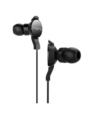 SOL REPUBLIC 1101-31 Amps In-Ear Headphones with Three-Button Mic and Music Control, Black