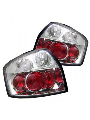 Spyder 111-AA402-C Audi A4 02-05 Euro Style Tail Lights (Chrome)