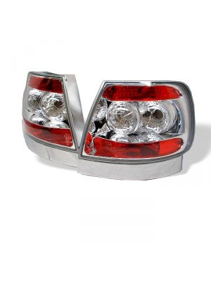Spyder 111-AA496-C Audi A4 96-01 Euro Style Tail Lights (Chrome)