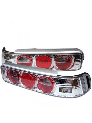 Spyder 111-AI90-C Acura Integra 90-93 2Dr Euro Style Tail Lights (Chrome)