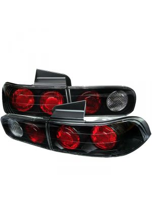 Spyder 111-AI94-4D-BK Acura Integra 94-01 4Dr Euro Style Tail Lights (Black)