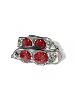 Spyder 111-ARSX02-C Acura RSX 02-04 Euro Style Tail Lights (Chrome)