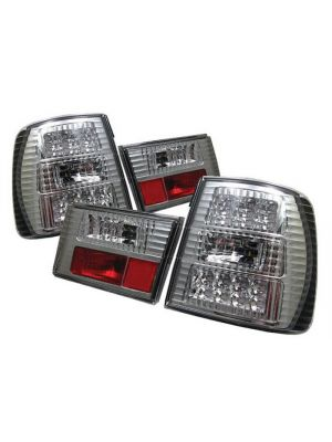 Spyder 111-BE3488-LED-RC BMW E34 5-Series 88-95 LED Tail Lights (Red Clear)