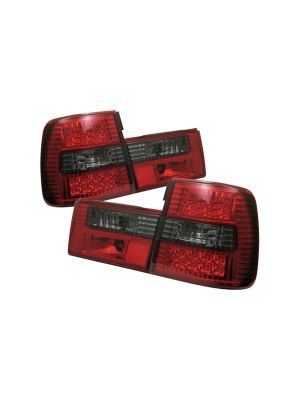 Spyder 111-BE3488-LED-RS BMW E34 5-Series 88-95 LED Tail Lights (Red Smoke)