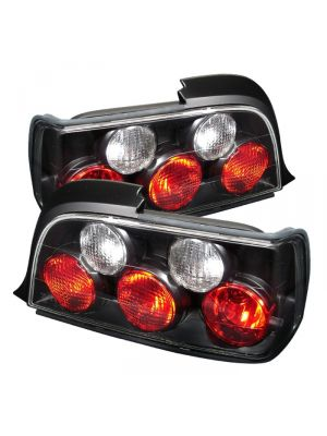 Spyder 111-BE3692-2D-BK BMW E36 3-Series 92-98 2Dr Euro Style Tail Lights (Black)