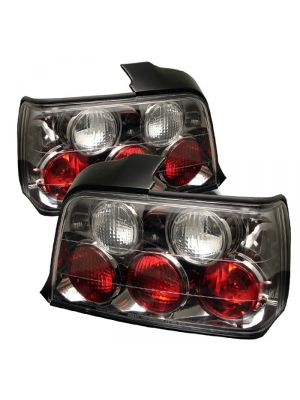 Spyder 111-BE3692-4D-BK BMW E36 3-Series 92-98 4Dr Euro Style Tail Lights (Black)