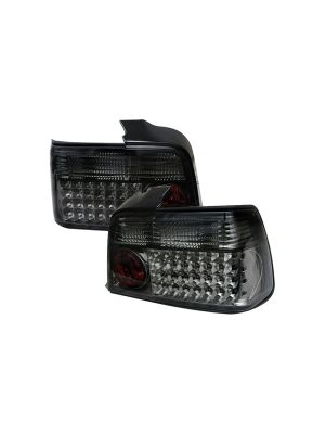 Spyder 111-BE3692-4D-LED-SM BMW E36 3-Series 92-98 4Dr LED Tail Lights (Smoke)