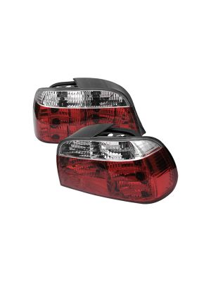 Spyder 111-BE3895-RC BMW E38 7-Series 95-01 Crystal Tail Lights (Red Clear)