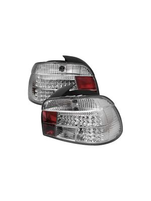 Spyder 111-BE3997-LED-C BMW E39 5-Series 97-00 LED Tail Lights (Chrome)