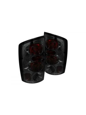 Spyder 111-DRAM02-SM Smoke Euro Tail Lights Dodge Ram