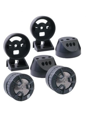 Power Acoustik NB4 4-Way Mount Tweeter, 250 Watts
