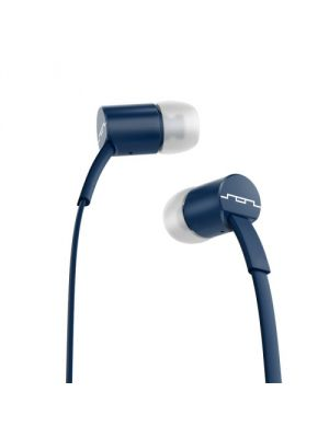 SOL REPUBLIC 1112-06 Jax E2 Single Button In-Ear Headphones, Navy