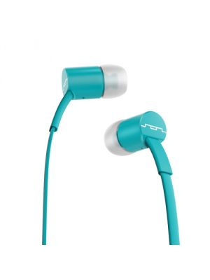 SOL REPUBLIC 1112-16 Jax E2 Single Button In-Ear Headphones, Turquoise