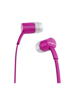 SOL REPUBLIC 1112-48 Jax E2 Single Button In-Ear Headphones, Violet