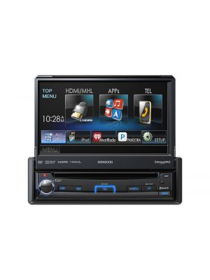 Kenwood KVT-7012BT In-Dash 1-Din Multimedia Monitor Reciever with Bluetooth