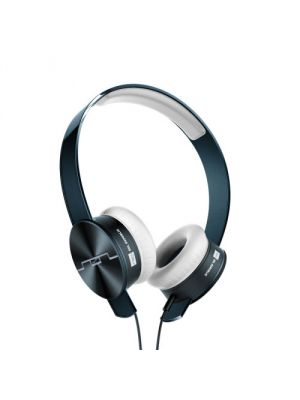 SOL REPUBLIC 1261-00 Tracks Ultra On-Ear Headphones with Three-Button Remote and Microphone, Navy