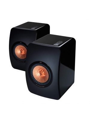 KEF LS50 Bookshelf speakers (Black Edition)