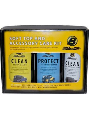 Bestop Inc. 11205-00 Window Polish Cleaner And Protectant Pack